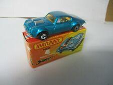 Matchbox Lesney Superfast SF4 Pontiac Firebird, boxed