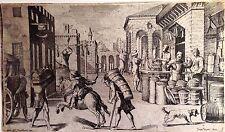 Virtud artes en Bolonia FRANCESCO CURTI;Juan Maria Tamburini XVII sec