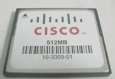 "MEM-CF-512MB Compact Flash Memory for Cisco 1900 2900 3900 ""Genuine"""