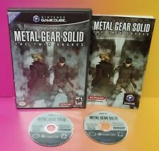 Metal Gear Solid Twin Snakes Nintendo GameCube Game Complete 1 Owner Mint Discs