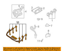 GM OEM Ignition Spark Plug-Wire OR Set-See Image 12192462