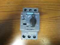 SIEMENS SIRIUS SW05005-11002 3RV2011-0CA10 CIRCUIT BREAKER FOR MOTOR PROTECTION
