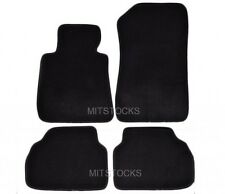 FIT FOR 05-09 BMW E90 3 SERIES 4 DOOR ONLY BLACK CARPET FLOOR MATS