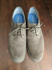 MARK NASON Shoes Leather 9.5 Men's Gray Dress New Casual Loafer Wear Memory