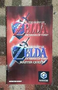 Manual ONLY Zelda Ocarina of Time Master Quest Instruction Booklet ONLY