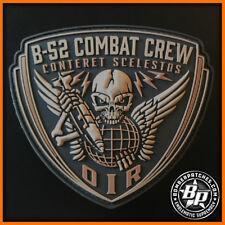 B-52 STRATOFORTRESS COMBAT CREW PATCH, DESERT SUB PVC OPERATION INHERENT RESOLVE