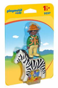 Playmobil Ranger Avec Zèbre 1.2.3 9257 Playmobil