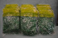 9 Bags Easter 13.5 oz GRASS GREEN 1.5 oz bags ea Plastic CRAFT Basket Filler