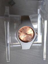 Damenuhr ICE Watch (Glas defekt) Weiß-Rosegold mit OVP!