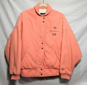Vintage ROFFE Peach Color Hunting / Ski Puffer Jacket Kids Or Adult