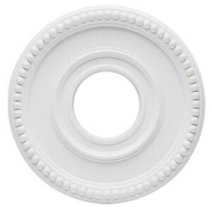 Westinghouse 7776200 12-3/8 Colonnade Polyurethane Ceiling Medallion Light Fan