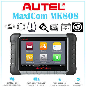 AUS VERSION Autel MaxiCOM MK808 MX808 OBD2 Diagnostic Scanner IMMO DPF SAS EPB