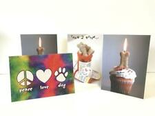 Dog-themed Greeting Cards - Set of 4 Dog Speak Cards