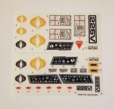 GI Joe Cobra Mamba Sticker Decal Sheet