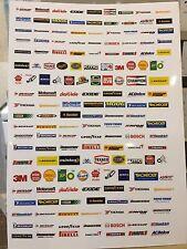 1/18 diorama sponsorship Decal Sheet (sheet001)