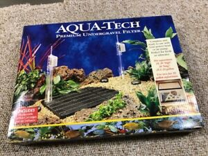 Brand New Undergravel Filter Aquarium Fish Tank Under Gravel Filters Aqua Tech-