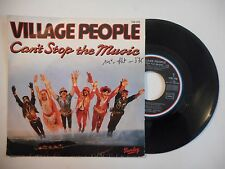 45t PORT 0€ ▓ VILLAGE PEOPLE : CAN'T STOP THE MUSIC