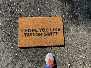 Official I Hope You Like Taylor Swift Limited Edition Entry Way House Doormat