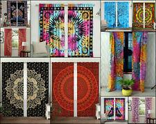 Wonderful Design Cotton Wall Hanging Drape Valance Door Window Curtain Indian
