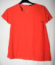 ORANGE LADIES PARTY FORMAL TOP BLOUSE SIZE 6/34 ATMOSPHERE