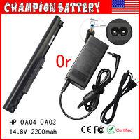 Adapter /Battery OA04 OA03 For HP 740715-001 746458-421 746641-001 751906-541