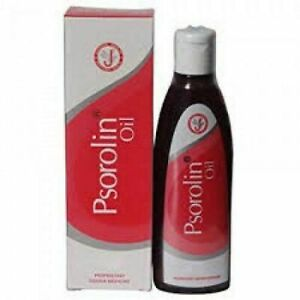 JRK Siddha Psorolin Oil Controlling Hyper Keratosis Reduces Scaling 100 ml QD389