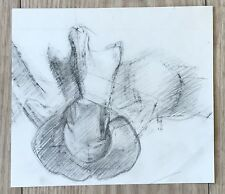 "Ted Atkinson FRBS RE (1929-2016) ""Ostrich Vertebrae"" pencil and chalk  c1950s"