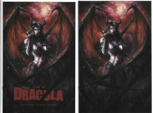 Cult of Dracula #1 Exclusive Alan Quah Variant Cover Trade Dress Virgin Set