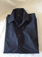 BOSS HUGO BOSS Mens Black Shirt (s0063)