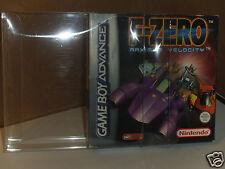 10 X GameBoy Advance Caja del juego protector de plástico caso de exhibición. hecho en el Reino Unido