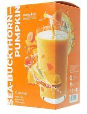 Sea buckthorn pumpkin Smoothie.Balanced diet.  Weight loss.