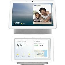 Google Nest Hub Max & Home Hub Bundle - Smart Display w/ Google Assistant