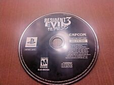 Sony PlayStation 1 PS1 PSOne Disc Only Tested Resident Evil 3 Nemesis Ships Fast