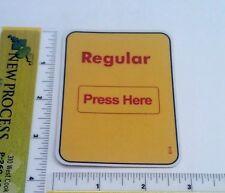 Gas Pump Sticker Replacement Parts - Regular (Large) - Part #614