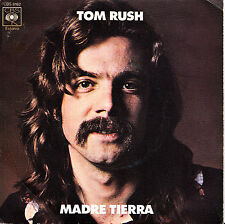 TOM RUSH- MADRE TIERRA + VIENTO SOBRE EL AGUA SINGLE VINYL SPAIN 1972 EX-EX