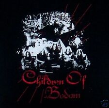 CHILDREN OF BODOM cd lgo GROUP PHOTO Official SHIRT XL New oop
