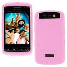 OEM Pink Sleeve Gel Skin Ruberr Case Cover Blackberry STORM 9500 9530 NEW GENUIN