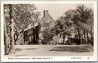 Staten Island NY Billop Conference House Old Vintage RPPC Real Photo Postcard C4