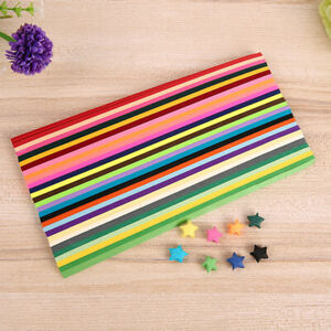 Origami Lucky Stars Drawing Paper Folding Paper Strips Handmade DIY 540 Sheet *s