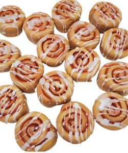 Realistic CINNAMON BUNS Wax Melts | Wax Embeds for Candles | Fake Food | Rolls