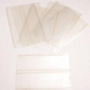 (11) Film Leader Cards for Afga MSC Photo Lab Center Pull Translucent USED G19C