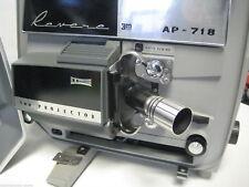 Vintage Revere AP-718  8mm Movie  Projector in Case Works Great