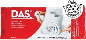 DAS White Modelling Air Drying Clay 1 kg Creative Gift Kids Brain Training