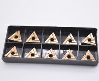 10* TNMG160408L-S carbide inserts lathe turning tool cabide tips for steel parts