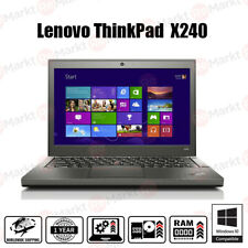 "Lenovo Thinkpad X240 Laptop Core i5 4th Gen 8GB RAM 500GB HDD 12,5"" Windows 7 10"