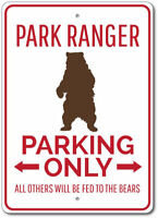 Park Ranger Sign, Park Ranger Parking Sign, Ranger Gift ENSA1002916