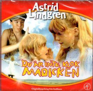 Hörspiel CD Astrid Lindgren schwedisch, Du är inte klok Madicken, Madita, NEU