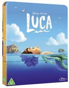 LUCA DISNEY PIXAR STEELBOOK BLU-RAY  AUDIO ITA