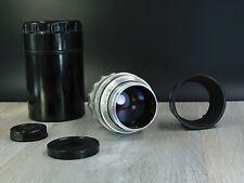 Tair 11 silver f2.8/133mm KMZ soviet lens 20 blades M39