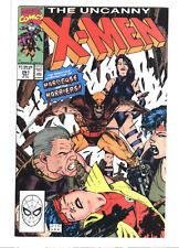 Uncanny X-men #261 Chris Claremont Jim Lee Wolverine Psylocke Jubilee 9.4